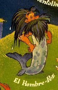 hombre pez cantabria:
